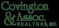 Covington & Associates Realtors, Inc logo in green for the real estate company in Hampton Roads Virginia